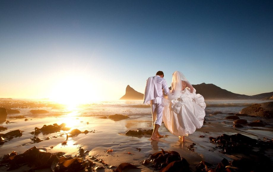 Cape Town is an ideal destination for weddings all year round