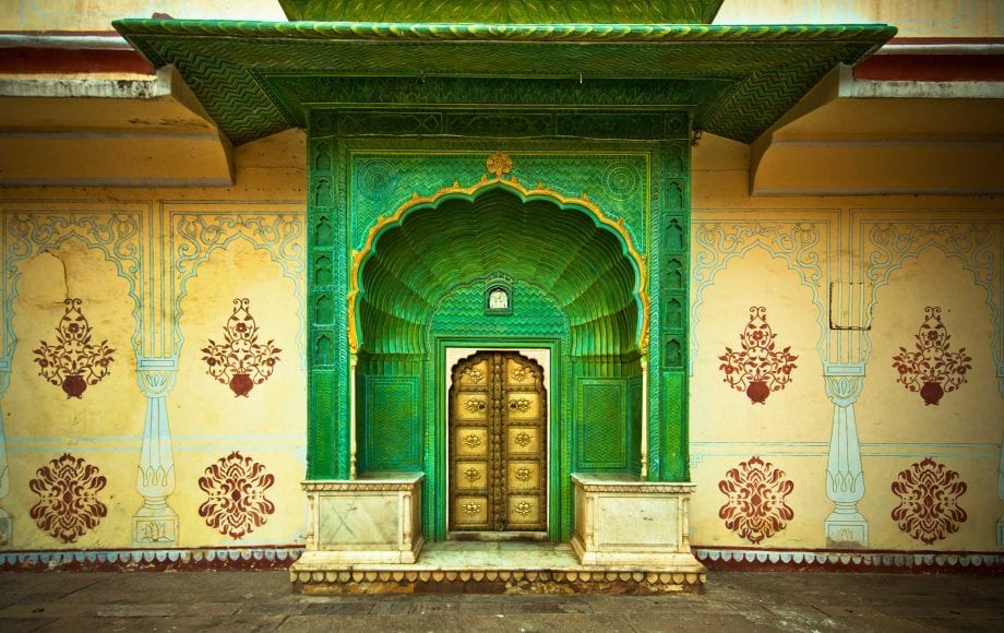Jaipur Traditional Patterns and Colorful Architecture