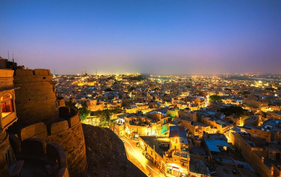 Night View from Mehrangarh Fort