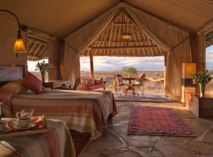 Tortilis Safari Camp, Amboseli, Kenya