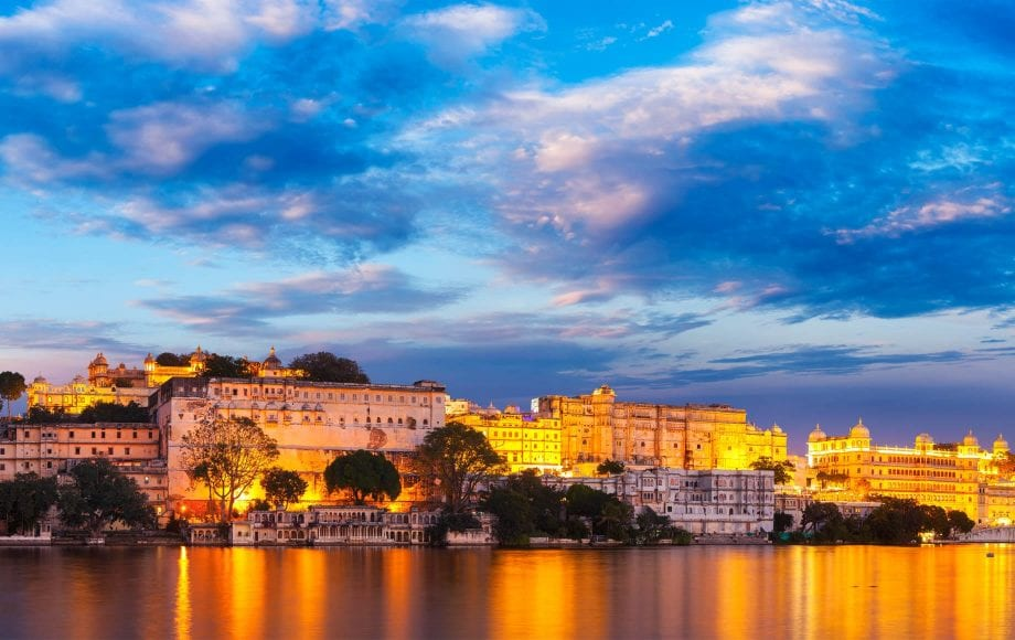Evening Lake View of Udaipur