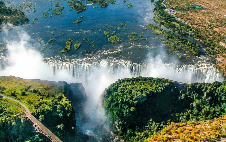 Amazing Waterfalls Victoria Falls
