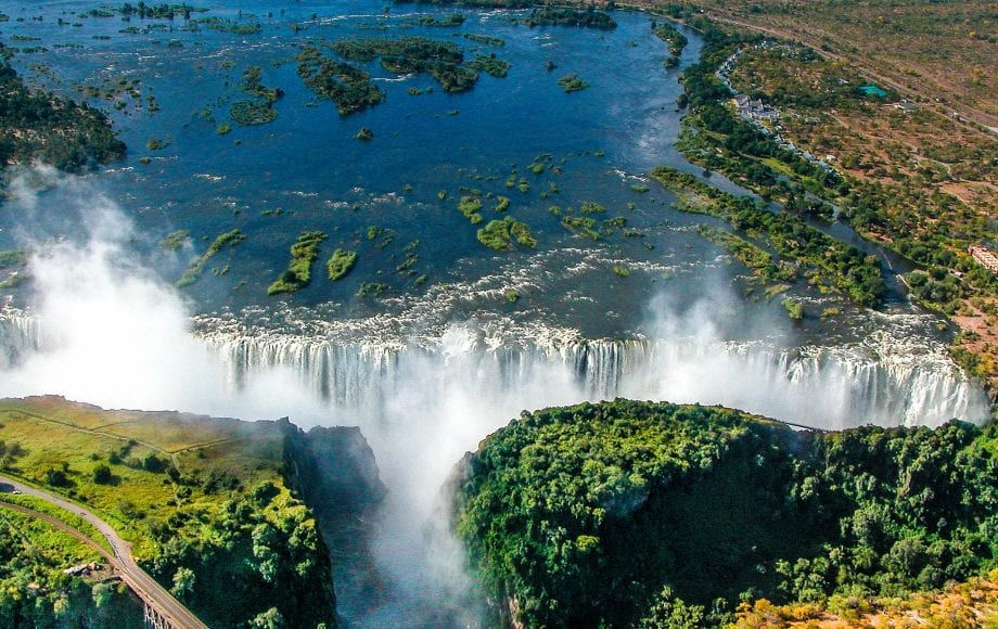 Beautiful view, Victoria Falls