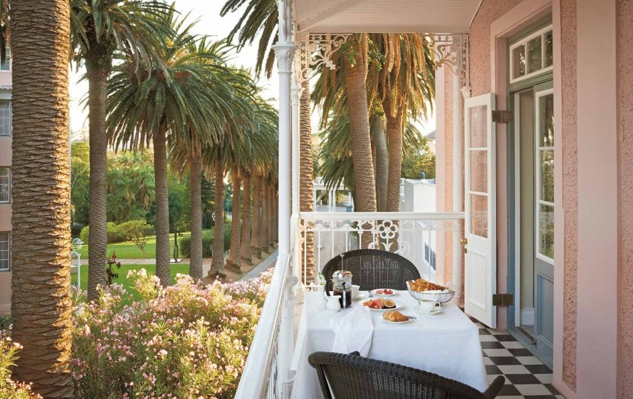 Patio Brunch at Belmond Mount Nelson Hotel in Africa