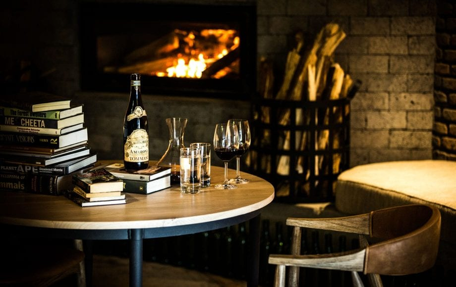 Wine and Books at Bisate Lodge